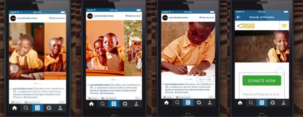 sequential advertising social media