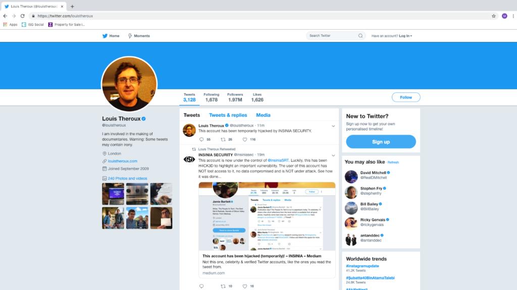 profile hijacking social media